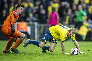 Nikolai Laursen (Br�ndby IF), Jesper Hansen (FC Midtjylland)