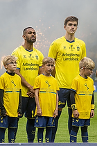 Kevin Mensah (Br�ndby IF), Mikael Uhre (Br�ndby IF)