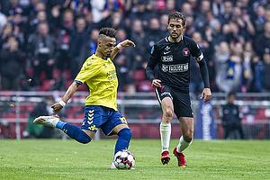 Hany Mukhtar (Br�ndby IF), Martin Pusic (FC Midtjylland)