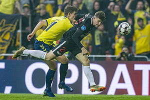Mads D�hr Tychosen (FC Midtjylland), Mikael Uhre (Br�ndby IF)