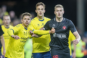 Dominik Kaiser (Br�ndby IF), Artem Dovbyk (FC Midtjylland)