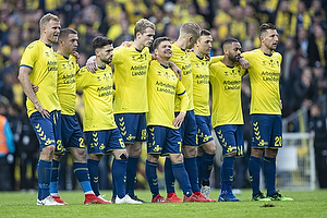 Paulus Arajuuri (Br�ndby IF), Josip Radosevic (Br�ndby IF), Besar Halimi (Br�ndby IF), Nikolai Laursen (Br�ndby IF), Dominik Kaiser (Br�ndby IF), Hj�rtur Hermannsson (Br�ndby IF), Lasse Vigen Christensen (Br�ndby IF), Hany Mukhtar (Br�ndby IF), Kamil Wilczek (Br�ndby IF)