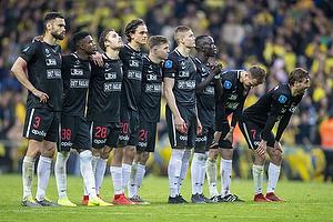 Tim Sparv (FC Midtjylland), Patryk Wolanski (FC Midtjylland),Erik Sviatchenko (FC Midtjylland), Rasmus Nicolaisen (FC Midtjylland), Jonas Borring (FC Midtjylland), Jakob Poulsen (FC Midtjylland)