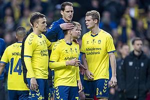 Dominik Kaiser (Br�ndby IF), Lasse Vigen Christensen (Br�ndby IF), Benedikt R�cker (Br�ndby IF)