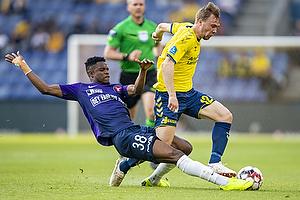 Simon Tibbling (Br�ndby IF), Frank Onyeka (FC Midtjylland)