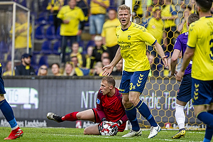 Paulus Arajuuri (Br�ndby IF), Marvin Schw�be (Br�ndby IF)