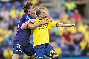 Rasmus Nicolaisen (FC Midtjylland), Simon Hedlund (Br�ndby IF)