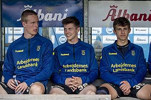 Anton Skipper (Br�ndby IF), Morten Frendrup (Br�ndby IF), Jesper Lindstr�m (Br�ndby IF)