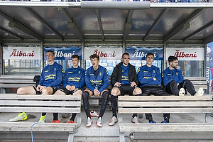 Anton Skipper (Br�ndby IF), Morten Frendrup (Br�ndby IF), Jesper Lindstr�m (Br�ndby IF), Jens Martin Gammelby (Br�ndby IF), Mikael Uhre (Br�ndby IF), Besar Halimi (Br�ndby IF)