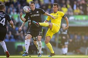 Kasper Enghardt (Randers FC), Kamil Wilczek (Br�ndby IF)