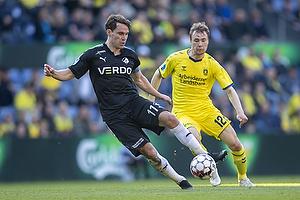 Erik Marxen (Randers FC), Simon Tibbling (Br�ndby IF)