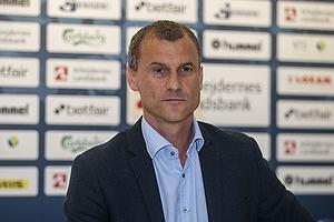 Pressemøde: Niels Frederiksen ny cheftræner i Brøndby IF