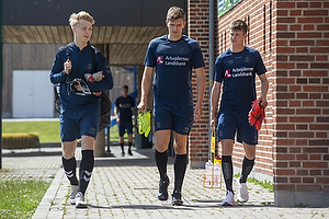 Magnus Warming (Br�ndby IF), Mikael Uhre (Br�ndby IF), Morten Frendrup (Br�ndby IF)