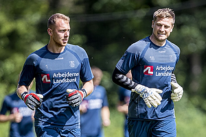 Marvin Schw�be (Br�ndby IF), Michael T�rnes (Br�ndby IF)