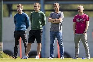 Mads Davidsen (Br�ndby IF), Ebbe Sand, sportsdirekt�r (Br�ndby IF)