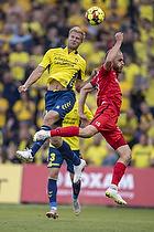 Paulus Arajuuri (Br�ndby IF), Timo Furuholm (FC Inter Turku)