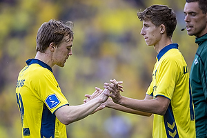 Simon Tibbling (Br�ndby IF), Jesper Lindstr�m (Br�ndby IF)