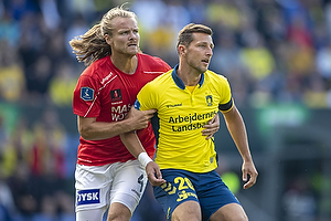 Kamil Wilczek (Br�ndby IF), Simon Jakobsen (Silkeborg IF)