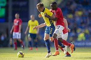 Lasse Vigen Christensen (Br�ndby IF), Valance Nambishi (Silkeborg IF)