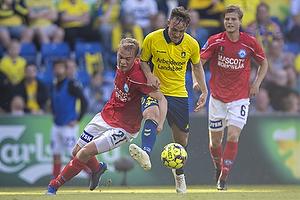 Lasse Vigen Christensen (Br�ndby IF), Mads Emil Madsen (Silkeborg IF)