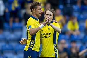 Kamil Wilczek, m�lscorer (Br�ndby IF), Simon Tibbling (Br�ndby IF)
