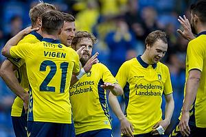 Kamil Wilczek (Br�ndby IF), Kasper Fisker (Br�ndby IF)