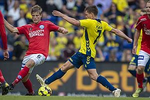 Dominik Kaiser (Br�ndby IF), Frederik M�ller (Silkeborg IF)