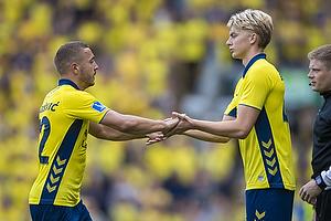 Josip Radosevic (Br�ndby IF), Tobias B�rkeeiet (Br�ndby IF)