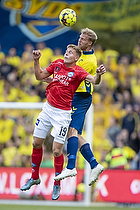 Nicolai Vallys (Silkeborg IF), Paulus Arajuuri (Br�ndby IF)