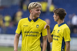 Tobias B�rkeeiet (Br�ndby IF), Jesper Lindstr�m (Br�ndby IF)