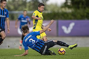 Dominik Kaiser (Br�ndby IF), Juuso H�m�l�inen (FC Inter Turku)