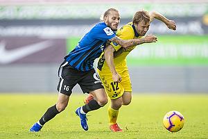 Simon Tibbling (Br�ndby IF), Niko Markkula (FC Inter Turku)