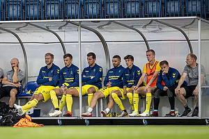 Paulus Arajuuri (Br�ndby IF), Lasse Vigen Christensen (Br�ndby IF), Kamil Wilczek (Br�ndby IF), Josip Radosevic (Br�ndby IF), Jesper Lindstr�m (Br�ndby IF), Michael T�rnes (Br�ndby IF)