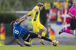 Kasper Fisker (Br�ndby IF), �lvaro Mu�iz Cegarra (FC Inter Turku)