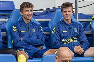 Jesper Lindstr�m (Br�ndby IF), Morten Frendrup (Br�ndby IF)