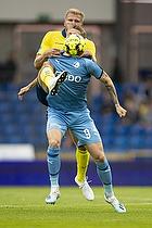 Paulus Arajuuri (Br�ndby IF), Emil Riis Jakobsen (Randers FC)