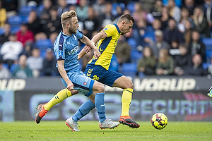 Kamil Wilczek (Br�ndby IF), Uidentificeret person (Randers FC)
