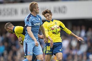 Jesper Lindstr�m (Br�ndby IF), Mikkel Kalles�e (Randers FC)