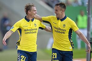 Simon Hedlund, m�lscorer (Br�ndby IF), Lasse Vigen Christensen (Br�ndby IF)
