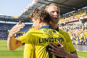 Anton Skipper (Br�ndby IF), Jesper Lindstr�m, m�lscorer (Br�ndby IF)