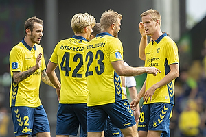 Jens Martin Gammelby (Br�ndby IF), Anton Skipper (Br�ndby IF), Paulus Arajuuri (Br�ndby IF)