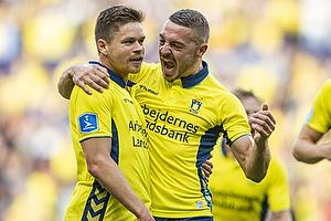 Dominik Kaiser, m�lscorer (Br�ndby IF), Josip Radosevic (Br�ndby IF)