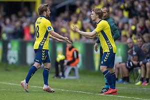 Kasper Fisker (Br�ndby IF), Simon Tibbling (Br�ndby IF)
