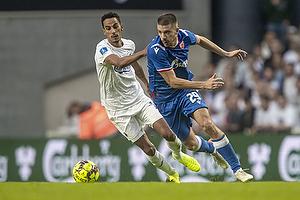 Dusan Jovancic  (R�de Stjerne), Carlos Zeca (FC K�benhavn)