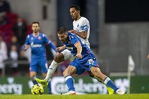 Carlos Zeca, anf�rer (FC K�benhavn), Dusan Jovancic  (R�de Stjerne)