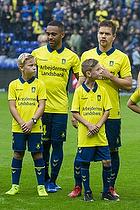 Kevin Mensah (Br�ndby IF), Dominik Kaiser (Br�ndby IF)