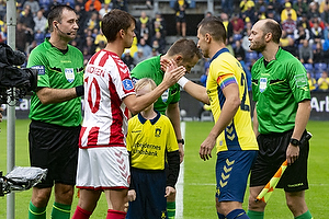 Kamil Wilczek, anf�rer (Br�ndby IF), Lucas Andersen, anf�rer (Aab)