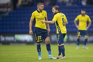 Josip Radosevic (Br�ndby IF), Kasper Fisker (Br�ndby IF)