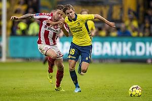 Jesper Lindstr�m (Br�ndby IF), Frederik B�rsting (Aab)