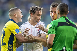 Josip Radosevic (Br�ndby IF), Jakob Ankersen (Agf)